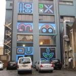 street art tall