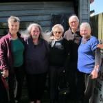 Tanya, Nganeko, Joan, George, Charmaine at Tahuna Pa